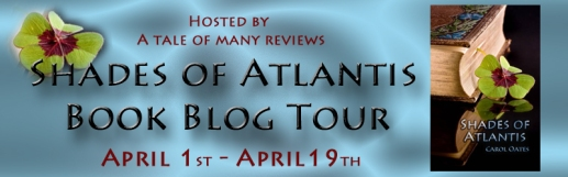 Shades of Atlantis Book Blog Tour April 1st - April 19th