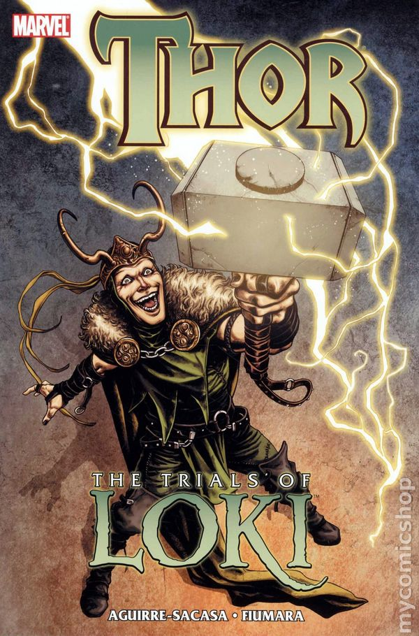Thor Trials of Loki