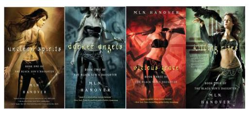 Black Sun's Daughter series by M.L.N. Hanover